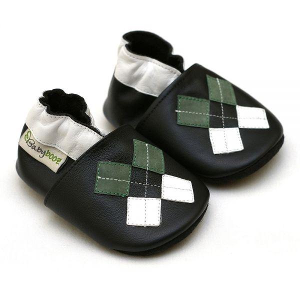 Babybooz Puhatalpú cipő Kockás